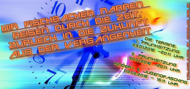 Flyer Fischbacher Fasching 2016